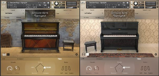 Session Keys - Upright Piano by E-instruments